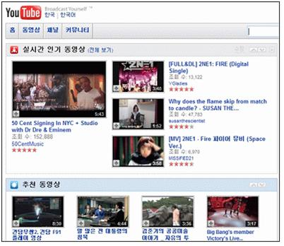 Google recently rejected to the real name system suggested by Korean Broadcasting Committee