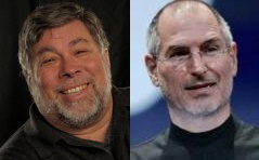 jobs and wozniaks face